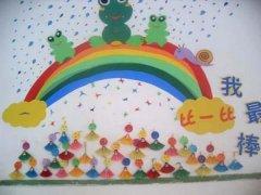 幼儿园的红花栏_幼儿园红花栏布置图片_幼儿园红花榜设计图片