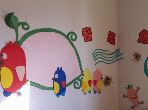 幼儿园区角环境布置:音乐角