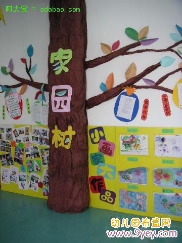 幼儿园大班主题墙边框设计图片展示