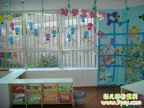 幼儿园美工区角布置 巧手工作室