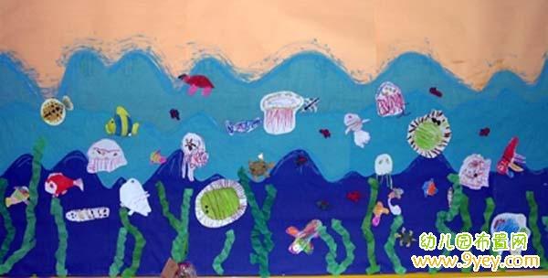幼儿园小班夏天主题墙设计