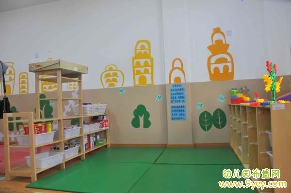 幼儿园建构室环境布置