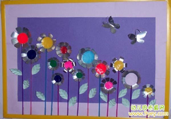 幼儿园墙面手工装饰