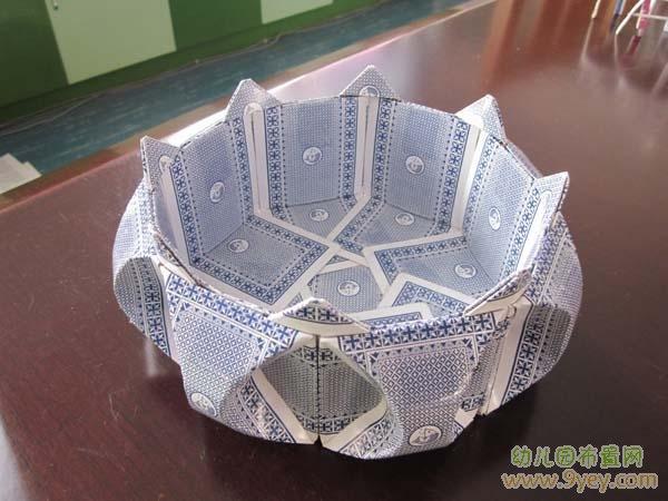 幼儿园手工制作图片:扑克帽