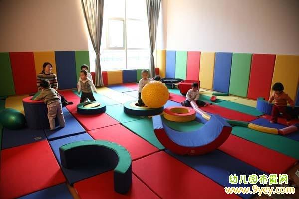 幼儿园游戏室设计图片