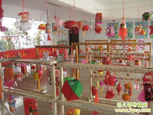 幼儿园2016年元宵节环境布置图片